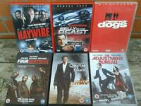Collection of 33 mixed dvds