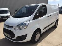 Ford Transit Custom 2.2TDCi 100BHP TREND L1 H1 IN WHITE
