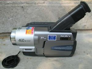 Sony ES8400 Hi8 Camcorder Sold for parts and Accessories