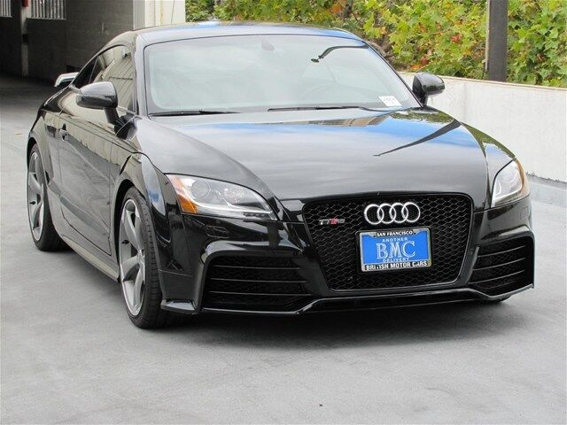 Audi : TT TT RS TT RS Manual Coupe in Phantom Black with 6900 miles!