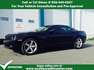 "2010 CHEVY CAMARO COUPE-SUNROOF, 20"" WHEELS, 2LT"