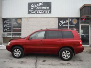 2002 TOYOTA HIGHLANDER ** LEATHER ** VERY CLEAN **