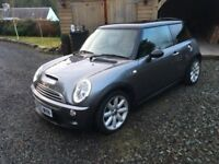 MINI Cooper S, 1.6l 3dr, Metalic Grey, Chilli Pack, Full Leather, SS Fletcher Exhaust, 1 Year MOT