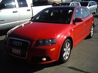 2007 Audi A3 HATCHBACK  LEATHER ROOF 2.0 T MANUAL