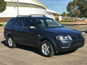 2010 Ford Territory SY MkII TX Blue 4 Speed Sports Automatic Wagon Gepps Cross Port Adelaide Area Preview