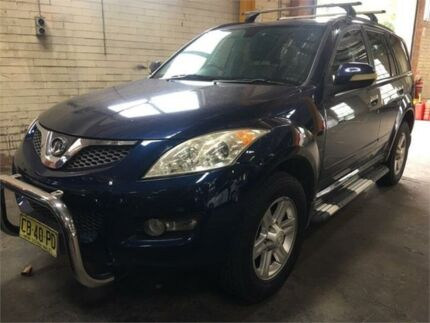 2011 Great Wall X240 CC6461KY Blue Manual Wagon