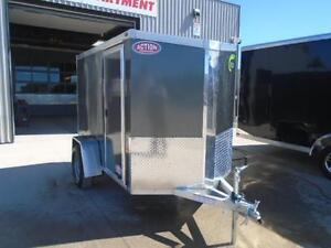MOTORCYCLE TRAILER ALL ALUMINUM NEO 5X9' - LIGHT WEIGHT London Ontario image 5
