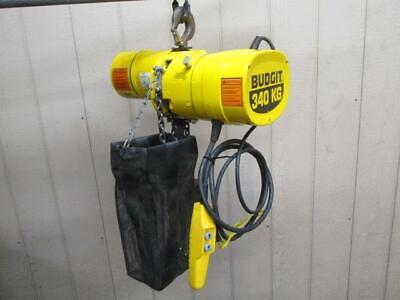 Budgit Behc5016 Electric Chain Hoist 12 Ton 10 Ft. Lift 230460v 3 Ph