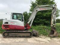 2013 Takeuchi TB 285 Excavator For Sale