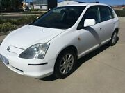 2003 Honda Civic 7th Gen MY2004 VI White 4 Speed Automatic Hatchback Fyshwick South Canberra Preview