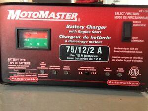 MotoMaster Battery Charger-Engine Start