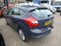 FORD FOCUS TITANIUM X 1.6 DIESEL - KV61CZY - DIRECT FROM INS CO