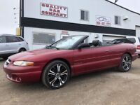 1998 Chrysler Sebring JXi Convertible Only $2950!!! Red Deer Alberta Preview