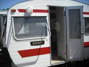 1971 Franklin REGENT 12 FOOT  CARAVAN FOR SALE SUNSHINE COAST