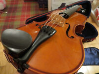 Stentor Student II - 3/4 Violin Outfit - with Case, Bow, Roisin, Pitch Pipes