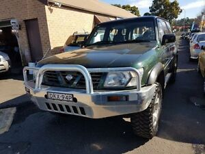 1998 Nissan Patrol GU ST (4x4) Green 4 Speed Automatic 4x4 Wagon Campbelltown Campbelltown Area Preview