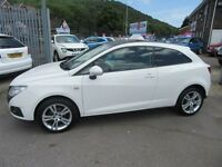 SEAT Ibiza CHILL 3d 85 BHP service history (white) 2011
