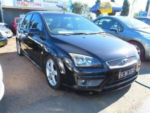 2005 Ford Focus LR MY2003 Zetec Black 4 Speed Automatic Hatchback Minchinbury Blacktown Area Preview