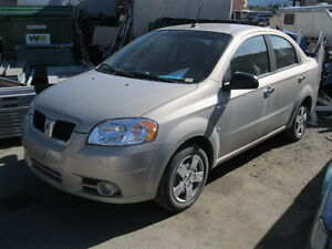 AUCTION ESTATE VEHICLES 2010 Pontiac G3 10718 kms and more