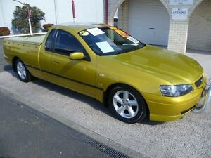 2002 Ford Falcon BA XLS Acid Rush 4 Speed Auto Seq Sportshift Utility South Nowra Nowra-Bomaderry Preview