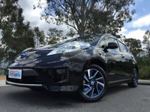 2014 Nissan Leaf Electric Autech Black 3 Speed Automatic Hatchback Kingston Logan Area Preview