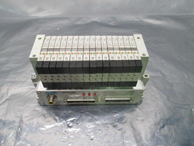 SMC VV5Q11-ULB980180, 16 Valve Pneumatic Manifold, NP420-DN1, 4060-01155, 407610