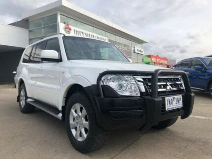 2014 Mitsubishi Pajero NX MY15 GLX White 5 Speed Sports Automatic Wagon Hoppers Crossing Wyndham Area Preview