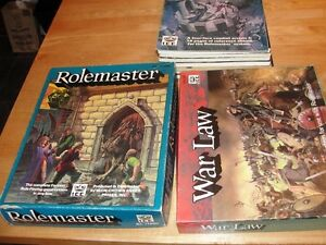 Rolemaster and companions/War Law box set