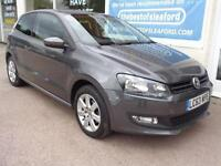 Volkswagen Polo 1.2 ( 60ps ) 2014 Match Edition F/S/H Low miles 26k Sat Nav