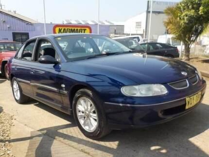 2000 Holden Commodore VT II Olympic Blue 4 Speed Automatic Sedan