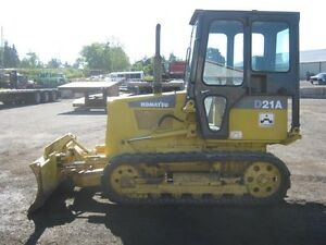 Komatsu D21A Rubber Track Dozer Cambridge Kitchener Area image 1