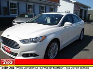 2016 Ford Fusion SE All your's for $96.40 weekly on the road