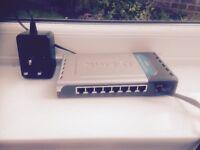 Ethernet Switch - D Link DES 1008D