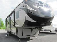 2015 KEYSTONE MONTANA 338DB Fifth Wheel