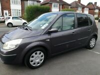 RENAULT SCENIC 1.6 EXPRESSION 16V 5DR AUTOMATIC (silver) 2005