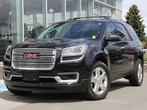 2014 GMC Acadia Certified | 7-Passenger | SLE2 | Colour Touch Sc