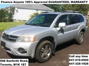 2008 Mitsubishi Endeavor SE AWD FINANCE ANYONE Approved WARRANTY