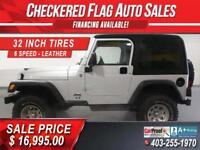 2006 Jeep TJ 4X4-63096km-32 INCH TIRES-6 SPEED-2 TOPS Calgary Alberta Preview