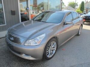 2007 Infiniti G35 S 6 speed LOADED SEDAN new winters tires $9900