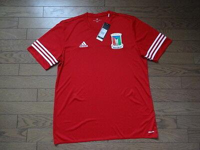 Equatorial Guinea 100% Original Soccer Football Jersey BNWT Adidas XL Rare image