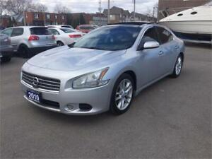2010 Nissan Maxima 3.5 S CERTIFIED-----