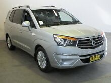 2014 Ssangyong Stavic A100 MY13 A100 MY14 Silver 5 Speed Automatic Wagon Westdale Tamworth City Preview