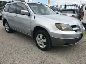 2004 MITSUBISHI OUTLANDER XLS AWD, AUTO, REGO, JUST SEVICED!