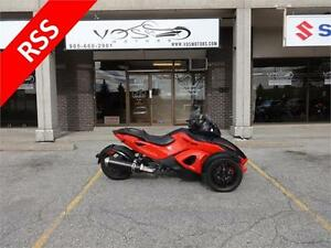 2012 Can Am Spyder RS-S- Stock#V2604- No Payments for 1 Year**