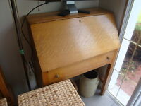 antique oak writing desk well made. Union Furniture rock dale Il