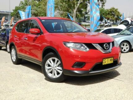 2016 Nissan X-Trail T32 ST (4x4) Red Continuous Variable Wagon Belconnen Belconnen Area Preview