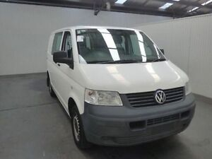 2009 Volkswagen Transporter T5 MY08 (LWB) White 6 Speed Manual Van Moonah Glenorchy Area Preview