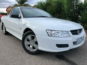 2005 Holden Commodore VZ White 4 Speed Automatic Utility Hoppers Crossing Wyndham Area Preview