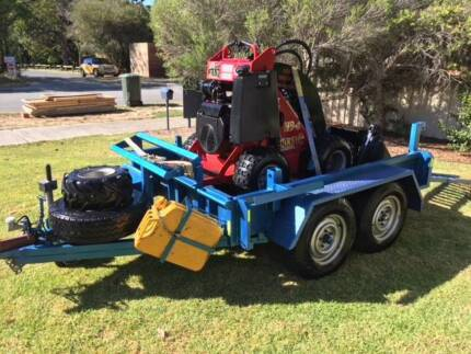 Mini Loader Dingo (K93) and Trailer LOW HOURS