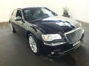 2011 Chrysler 300C LE MY08 CRD Black 5 Speed Automatic Sedan Clemton Park Canterbury Area Preview